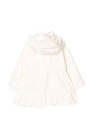 White parka with ruffles Moncler kids Moncler Kids | 13 | 1C7011054155034