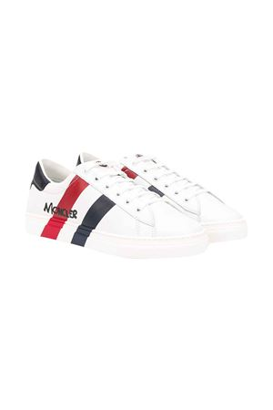 White teen shoes with round tip Moncler kids Moncler Kids | 12 | 4M7032002S9U002T