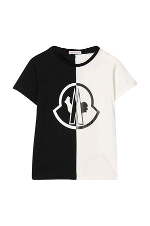 Bicolor t-shirt with press Moncler Kids Moncler Kids | 8 | 8C700108790A999