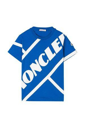 T-shirt blu Moncler kids teen Moncler Kids | 8 | 8C7012083907711T