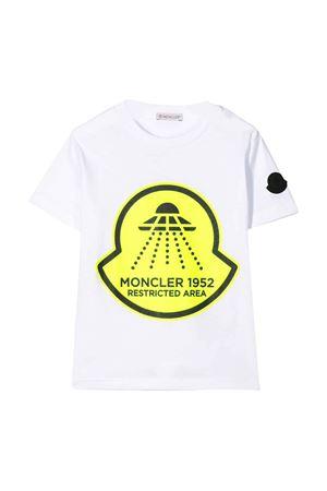 T-shirt bianca Moncler kids teen Moncler Kids | 8 | 8C7062083907001T