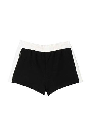 Black shorts with white logo press Moncler kids Moncler Kids | 30 | 8H70710809DQ999