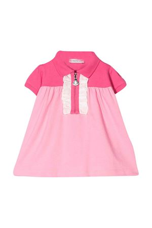 Multicolor flared polo like dress Moncler kids Moncler Kids | 11 | 8I708108496F52A