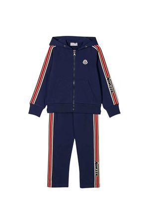 Blue jumpsuit Moncler kids  Moncler Kids | 19 | 8M70120809AG749