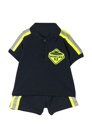 Blue sport suit with lateral stripes Moncler kids Moncler Kids | 42 | 8M717208496F773