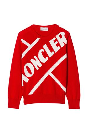 Red sweater Moncler kids   Moncler Kids | -108764232 | 9C70120V9085455