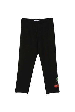 Black leggings with press Monnalisa kids Monnalisa kids | 411469946 | 115420AE52010050