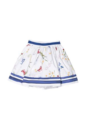 White skirt with multicolor details Monnalisa kids Monnalisa kids   15   11570056010099