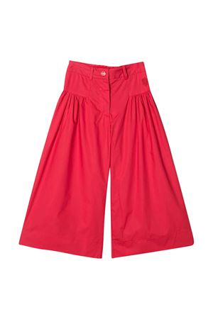 Red Monnalisa kids wide pants  Monnalisa kids | 9 | 17541151170044