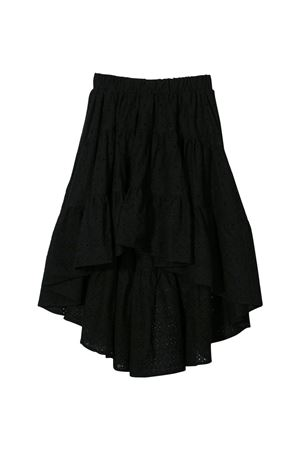 Black skirt Monnalisa kids teen Monnalisa kids   15   17570059080050T