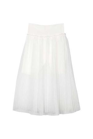 Long teen white skirt Monnalisa kids Monnalisa kids   15   17570250190001T