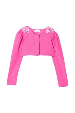 Cardigan rosa corto con fiori Monnalisa kids Monnalisa kids | 39 | 175803F552040095