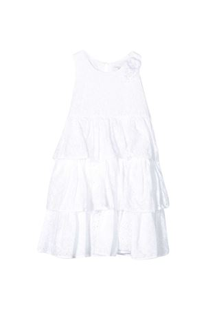 White teen long dress Monnalisa kids Monnalisa kids | 11 | 17590159080099T