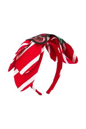 Red and white hair clip Monnalisa kids Monnalisa kids | 2047319446 | 19501753044499