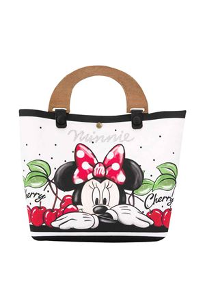 White bag with Minnie press Monnalisa kids Monnalisa kids | 31 | 19502651100099