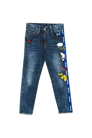 Jeans with multicolor applications Monnalisa kids Monnalisa kids | 24 | 195400R150100055