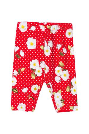 Red polka dot leggings Monnalisa kids  Monnalisa kids | 411469946 | 31541756344499