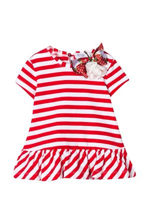 T-shirt a righe rosse Monnalisa Kids Monnalisa kids | 11 | 315630F352159944