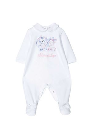 White romper with press Monnalisa kids Monnalisa kids | 1491434083 | 355200S450080099