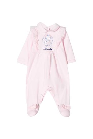 Pink romper with press Monnalisa kids Monnalisa kids | 1491434083 | 355203S450080090