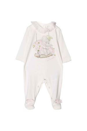 White romper Monnalisa kids baby  Monnalisa kids | 1491434083 | 355204SC50080001