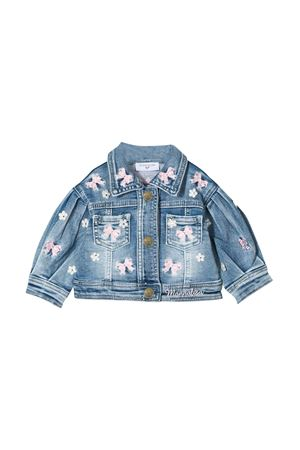 Blue denim jacket Monnalisa kids  Monnalisa kids | -276790253 | 395101R450120062