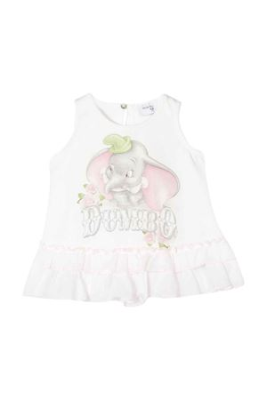 White sleeveless top Monnalisa kids Monnalisa kids | 8 | 395610SD50000001