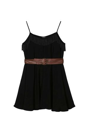 Black short jumpsuit with belt Monnalisa kids Monnalisa kids | 19 | 41520451070050