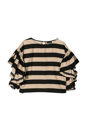 Beige top with black stripes Monnalisa kids Monnalisa kids | 40 | 41561553175003