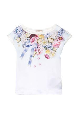 White t-shirt Monnalisa kids teen  Monnalisa kids | 40 | 715604SE51045201T