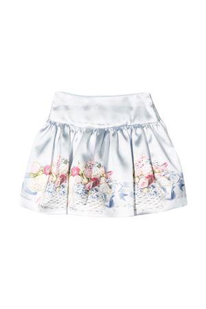 White shiny skirt Monnalisa kids  Monnalisa kids   15   71570356530052