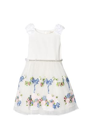 White dress Monnalisa kids teen  Monnalisa kids | 11 | 71591559300190T