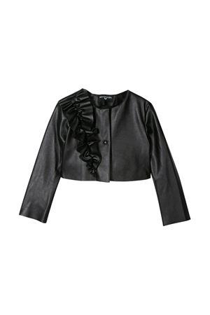Black jacket Monnalisa kids  Monnalisa kids | -276790253 | 79510550140050