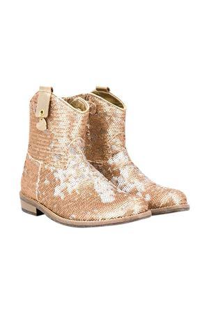 Gold boots Monnalisa kids  Monnalisa kids   12   87500457040073