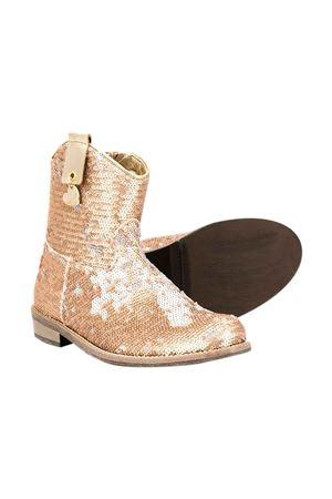 Gold boots Monnalisa kids teen  Monnalisa kids | 12 | 87500457040073T