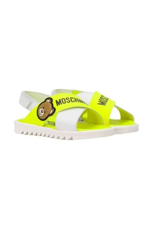 Yellow Moschino kids sandals  MOSCHINO KIDS | 12 | 63619VAR1