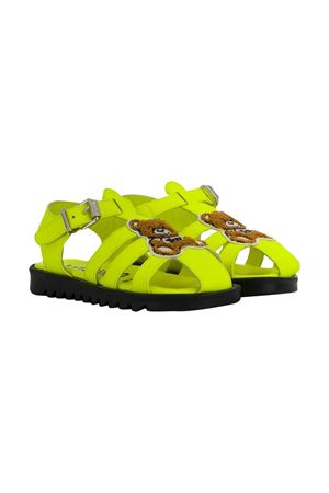 Neon yellow sandals Moschino kids  MOSCHINO KIDS | 12 | 63621VAR2