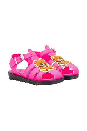 Fuchsia sandals Moschino Kids  MOSCHINO KIDS | 12 | 63621VAR3