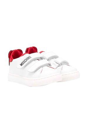 Sneakers bianche Moschino kids MOSCHINO KIDS | 12 | 63629VAR2