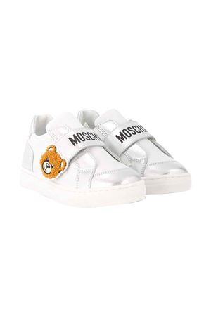 Sneakers bianche Moschino kids MOSCHINO KIDS | 12 | 63634VAR2