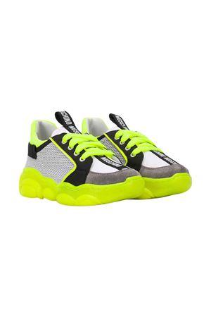 Sneakers grigie Moschino kids MOSCHINO KIDS | 12 | 63639VAR1
