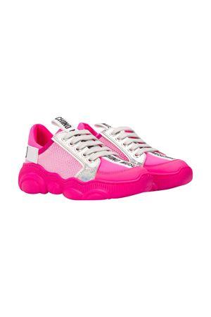 Sneakers fucsia con logo Moschino kids MOSCHINO KIDS | 12 | 63721VAR1