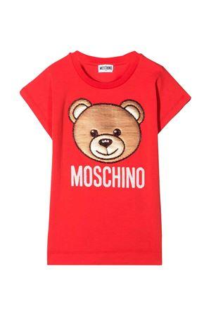 T-Shirt rossa con stampa Toy Moschino Kids MOSCHINO KIDS | 5032307 | HAM02VLBA1050109