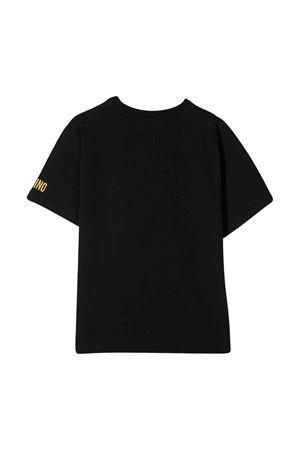 Black t-shirt Moschino kids  MOSCHINO KIDS | 5032307 | HBM02TLBA1060100