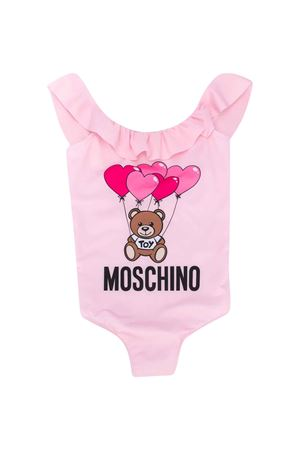 Pink one-piece swimsuit Moschino kids MOSCHINO KIDS | 85 | HDL00DLKA0050209