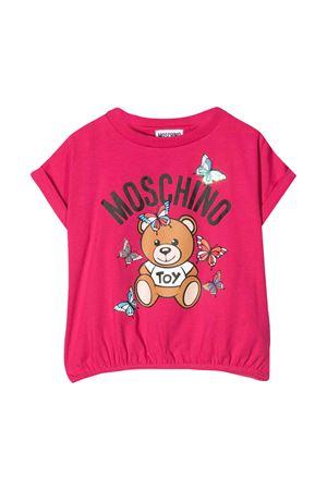 T-shirt fucsia Moschino kids MOSCHINO KIDS | 8 | HDM03DLBA0050844