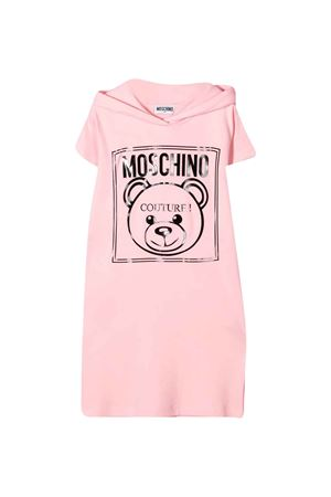 Pink sleeveless dress Moschino kids MOSCHINO KIDS | 11 | HDV08PLCA1750209
