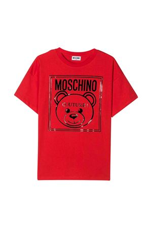 Red  t-shirt Moschino kids MOSCHINO KIDS | 8 | HOM02PLAA0150109
