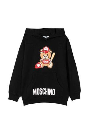 Felpa nera Moschino kids MOSCHINO KIDS | 5032280 | HUF03ELDA1360100