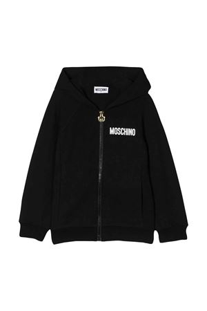 Black sweatshirt Moschino kids  MOSCHINO KIDS | -108764232 | HUF03FLDA0060100